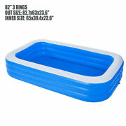 82 X 63 Spas Square Swimming Pool Garden Pool For Adult For Kids