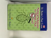 Natural Solutions To Things That Bug You - Hardcover By Dr. Myles Bader - Good