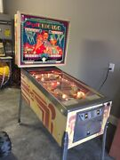 Bally Old Chicago 4 Player Em Pinball Machine 1976andnbsp- Works Great Fast Action