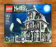 New And Sealed Lego Monster Fighters Haunted House 10228 - Retired And Rare