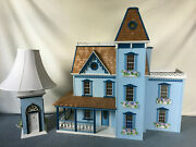 Victorian Walmer Dollhouse Apple Blossom W/lamp Furniture And Accessories