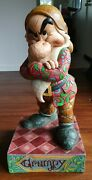 Disney - Grumpy It's All About The Attitude Masterpiece Figurine By Jim Shore