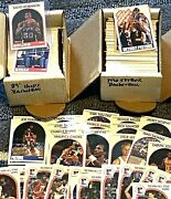 Amazing Basketball Card Collection Lot. Over 1500 Cards Please Read. Rc And Hof
