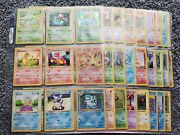 Original Pokemon 151 Shadowless Base 1st Jungle Fossil Only All 44 Holos Look