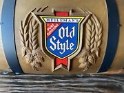Vintage Old Style Beer Barrel Poker/pool Table Light. Will Ship Or Local Pickup