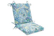 Pillow Perfect Outdoor/indoor Gilford Baltic Square Corner Chair Cushion