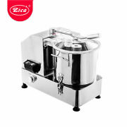 Zica Commercial Meat Cutter Food Processor Vegetable Meat Stuffing Mixer 6/9/12l