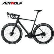 70035c Carbon Gravel Bike Complete Bicycle 49/52/54/56/58 Fully Internal Wiring