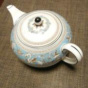 Wedgwood Of Pottery Teapot