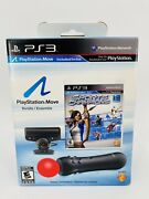 Sony Playstation Move Bundle Ps3 Motion Control Game Camera Sports Champions New