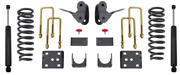 2/4 Lowering Kit For 2004-2008 Ford F-150 2wd Ext/crew Cab Maxtrac K333124