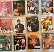 Vintage Muhammad Ali Cassius Clay Sports Illustrated Lot Of 24