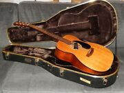 Made In Japan 2000 - Headway Hf408 - Simply Amazing Om18 Style Acoustic Guitar