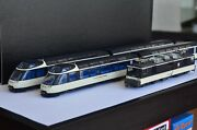 Bemo Swiss Rhb Crystal Panorama Express 5-unit Complete Set Limited Ultra Rare