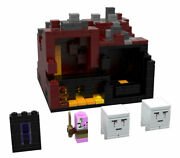 Lego Minecraft - 21106 Micro World - The Nether --- 100 Complete [a1]