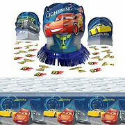 Disney Cars Party Supplies Table Decoration Kit