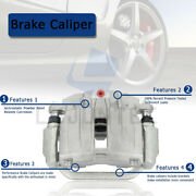 Front And Rear Brake Ceramic Pads Disk Rotor And Calipers Kit For Toyota Sequoia