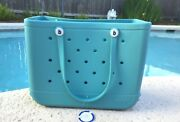 """🌊nwt Original Large Bogg Bag """"turquoise And Caicos"""" Turquoise Fast Ship🌊"""