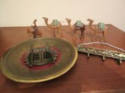 Israel Jerusalem Collectibles Three Pieces Sold As One Lot Vintage 1970and039s