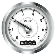 Newport Ss 4 Tach+system Check Indicator For Suzuki Gas Outboard-0 To 7000 Rpm