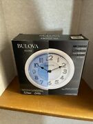 Bulova Home, Wireless Bluetooth Stereo Speakers Built-in. Indoor And Outdoor Use