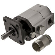 New 11gpm Hydraulic Log Splitter Pump Front/back 2 Stage High Low Gear Pump