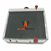 4 Row Radiator For 1967-1970 Ford Mustang 68-69 Ford Torino/1963-69 Fairlane 20