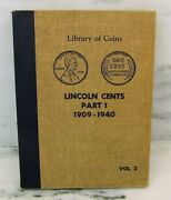 1909-1940 Lincoln Wheat Penny Collection 87 Coins Liberty Of Coins Album Ak207