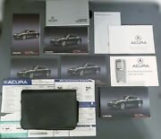 Oem 2012 Acura Tl Owners Manual Navigation Guide Advanced Technology Book And Case