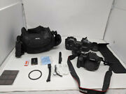 Canon Eos 4000d Dslr Camera With 18-55mm F/3.5-5.6 Zoom Lens, 64gb Memory,case,