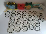 View-master Lot - 3 Viewers, 37 Reels, 70's Happy Days 3 Reel Set