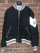 Moncler Gamme Bleu Menandrsquos Down Filled Bomber Jacket - Size M - Like New
