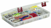 Plano Prolatch Stowaway Large Clear Organizer Tackle Box, Large, Clear