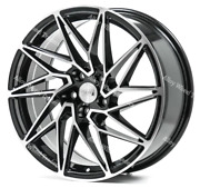 18 1av Zx10 Roues Alliage Pour Jeep Compass Cherokee Renegade 5x110 Pcd