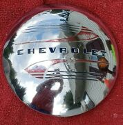 Chevy Dog Dish Hubcap Patina Truck Or Wall Hanger - Decide From The Pictures