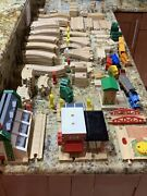 Thomas The Train Engine And Friends Wooden Trains Track And Set 171 Pieces