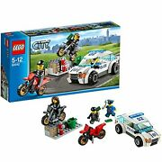 Lego City Police Car And Drobow Bike 60042 Free Ship W/tracking New From Japan