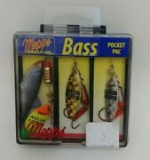 Mepps Bass Pocket Pac In-line Spinnerbait Fishing Lures
