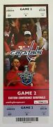 2009 Nhl Playoffs Ovechkin Sidney Crosby Hat Trick Ticket Capitals Penguins 5/4