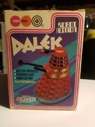 Marx Bump And Go Robot Action Dalek From Doctor Who 1974 Complete Working In Box