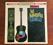 Leadbelly Andndash The Immortal Leadbelly - Stereo Lp - Mount Vernon Music Mvs141