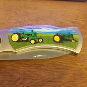 Large Knife Tractor Series Never Sharpened Or Used
