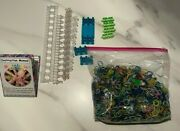 Rainbow Loom Rubber Bands Kit Multi-colored And Includes 2 Loom Makers