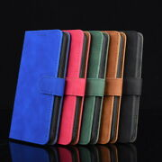 For Samsung S21 S20 Fe A32 A52 A72 Shockproof Pu Leather Wallet Card Case Cover