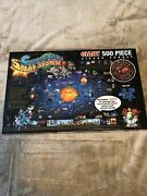 Childrenand039s Map Solar System - Jigsaw Puzzle - 500 Pieces - 24 X 36 - Pre Owned