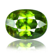 Sphene/titanite 11.13ct Rare Aaa Green Color 100natural Earth Mined From Russia