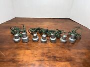 Lot Of 7 Vintage Duck Decoy Lead Weights Hand Made