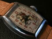 Exceptional Condition 1950's Ingraham Roy Rogers Character Watch, Model L Mov't