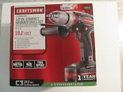 Craftsman 19.2 C3 Hd2000 1/2 Compact Hammer Drill Only No Battery No Charger