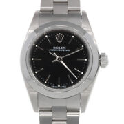 Rolex Watches 76080 Silver Black Stainless Steel K Number 2001 Guarantee Used